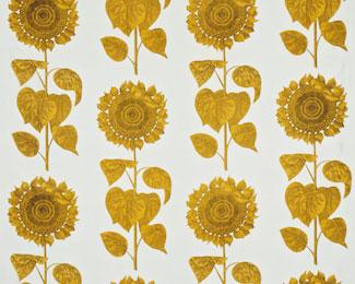 英国Snderson社ファブリック パラディオ・サンフラワー palladio sunflower【輸入ファブリック】【イギリス製】【オーダーカーテン】【1M単位カット販売可】【海外在庫品】【送料無料】