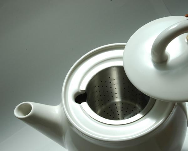 赫加奈斯 keramik hoganaskeramick 茶壶垫白色