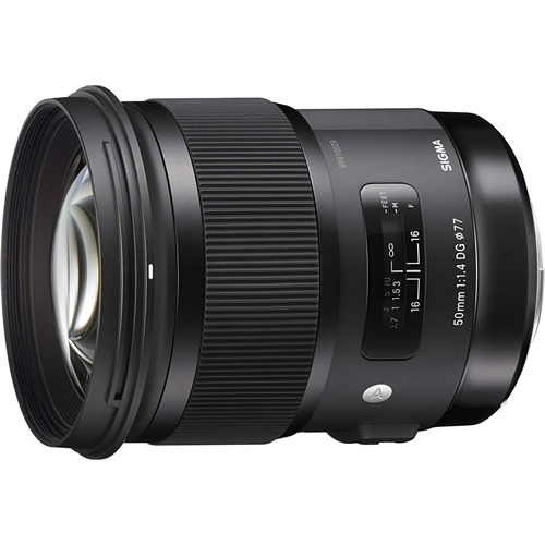 ショップ オブ ジ エリア2020受賞 公式ストア 永遠の定番モデル シグマ 50mm 標準単焦点レンズ HSM F1.4 キヤノン用 Artライン DG