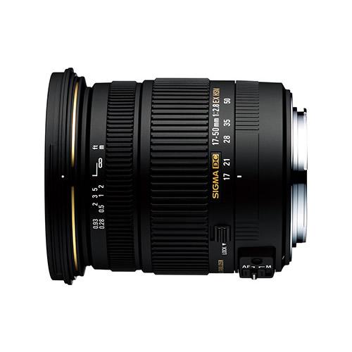 シグマ SIGMA 17-50mm F2.8 EX DC OS HSM ニコン用 大口径標準ズームレンズ
