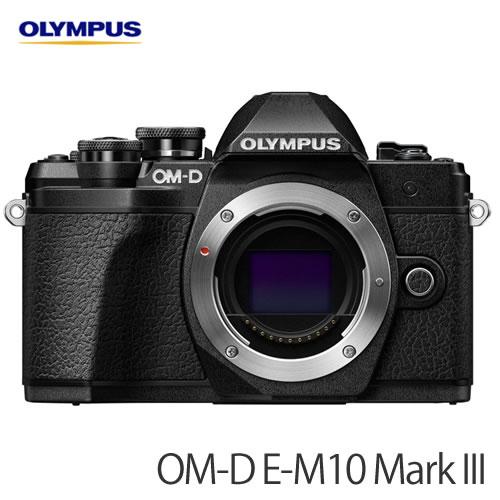 オリンパス ミラーレス一眼 OM-D E-M10 MarkIII ボディー ブラック