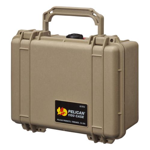 PELICAN ペリカン 小型防水ケース 1150HKDT デザートタン 【ラッピング不可】