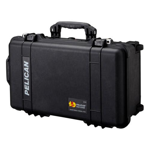 (メーカー直送)(代引不可) PELICAN ペリカン 中型防水ケース 1510HKBK ブラック 【ラッピング不可】