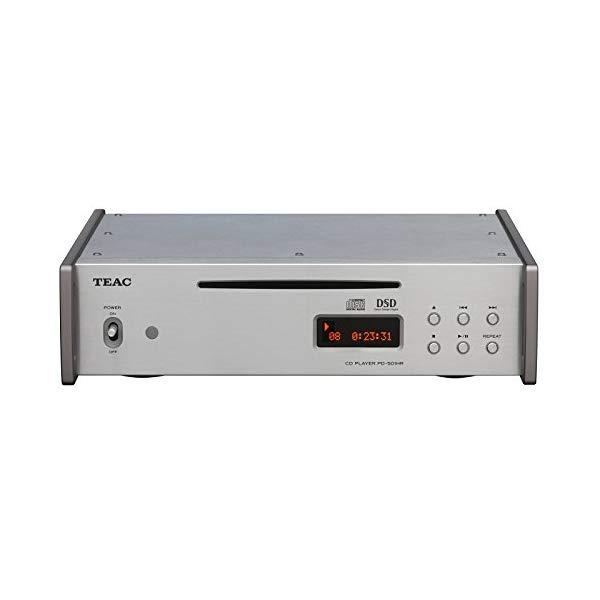 TEAC ティアック DSD/PCM ハイレゾ音源再生対応CDプレーヤー シルバー PD-501HR-SE/S 【ラッピング不可】