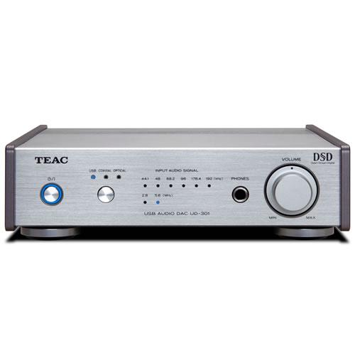 TEAC ティアック デュアルモノーラル USB DAC シルバー UD-301-SP/S 【ラッピング不可】