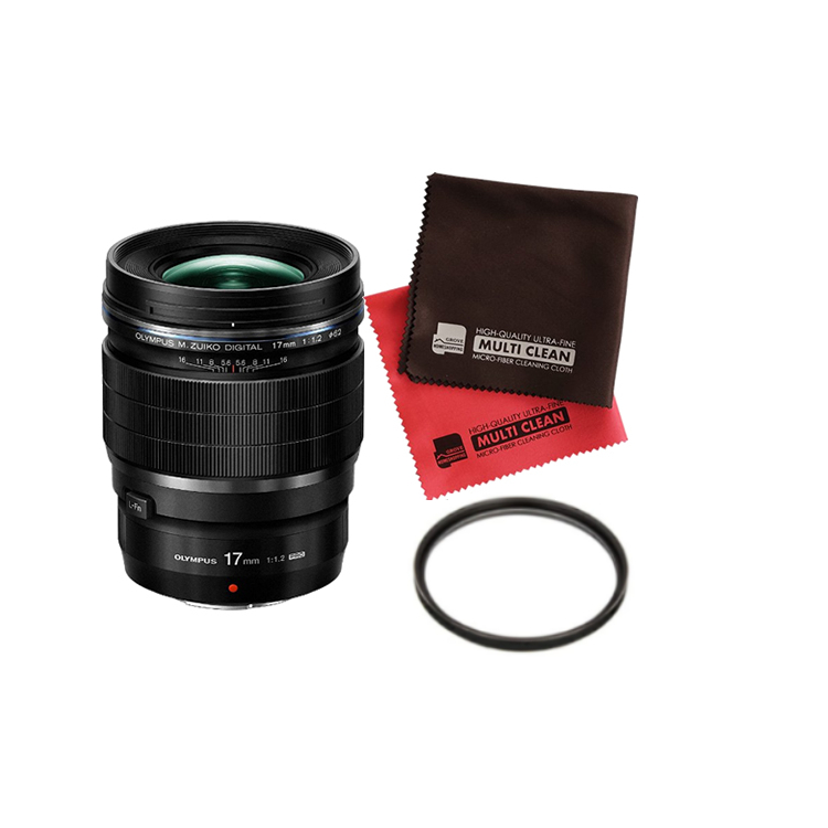 (フィルターセット) OLYMPUS オリンパス 大口径広角単焦点レンズ M.ZUIKO DIGITAL ED 17mm F1.2 PRO