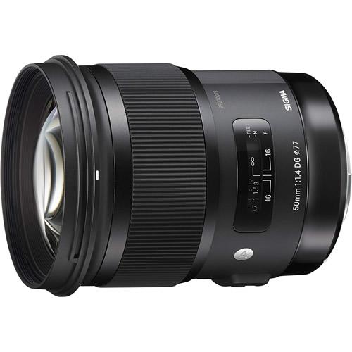 シグマ 50mm F1.4 DG HSM ソニーEマウント用 Artライン 標準単焦点レンズ