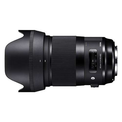 シグマ 標準レンズ 40mm F1.4 DG HSM (A) キャノン用