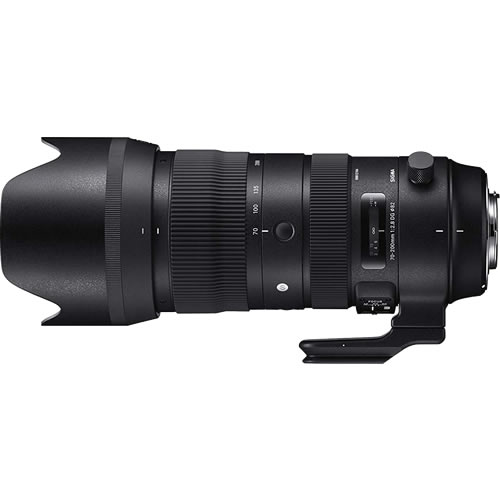 SIGMA (シグマ) 大口径望遠ズームレンズ 70-200mm F2.8 DG OS HSM (S) ニコン