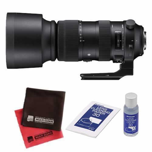 SIGMA (シグマ) 超望遠レンズ AF 60-600mm F/4.5-6.3 DG OS HSM (S) ニコン用 (クリーナーキットセット)