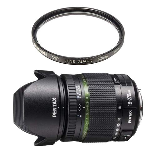 【レンズ保護フィルター付】 ペンタックス 高倍率ズームレンズ smc PENTAX-DA 18-270mm F3.5-6.3 ED SDM