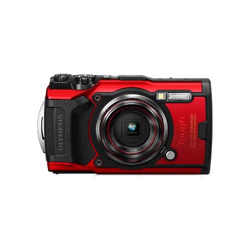 OLYMPUS オリンパス デジタルカメラ Tough TG-6 レッド (防水 防塵 耐衝撃 GPS内蔵)【防水カメラ】