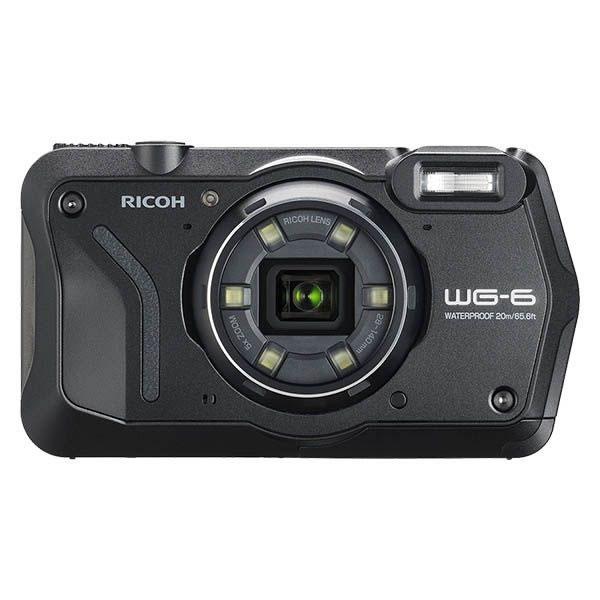 (4月19日発売予定) リコー (RICOH) 防水・防塵・耐衝撃・防寒 デジタルカメラ WG-6 ブラック