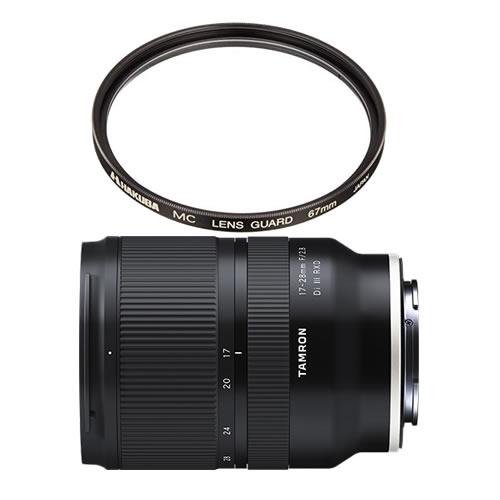 数量限定 カメラバッグプレゼント! タムロン 大口径超広角ズームレンズ 17-28mm F/2.8 Di III RXD A046SF ソニーEマウント レンズフィルターセット