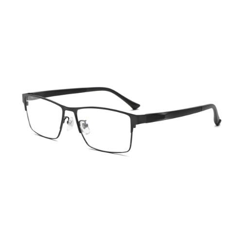 小松貿易 老眼鏡 ピントグラス PINT GLASSES PG-111L-BK 男性用 軽度レンズモデル(老眼度数:+1.75D~+0.0D)