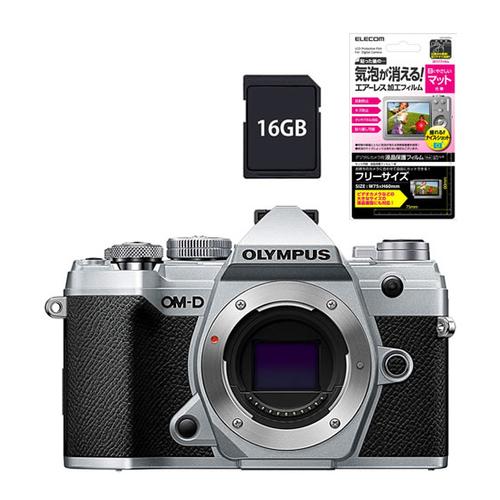 オリンパス OM-D E-M5 MarkIII ボディー シルバー SLV (SD16GBセット)