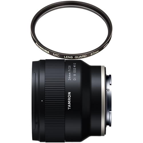 (12月5日発売予定) 数量限定 カメラバッグプレゼント! タムロン 24mm F/2.8 Di III OSD M1:2 ソニーEマウント Model:F051SF 広角単焦点レンズ (レンズフィルターセット)