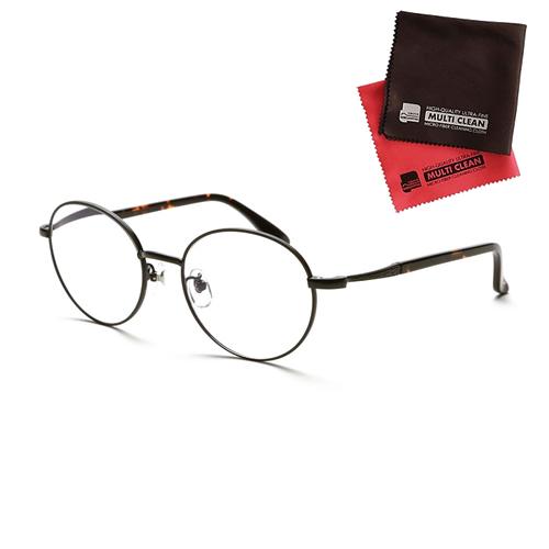 小松貿易 老眼鏡 ピントグラス PINT GLASSES 710BK (PG-710-BK) 兼用 (老眼度数:+0.60~2.50D) (クロスセット)