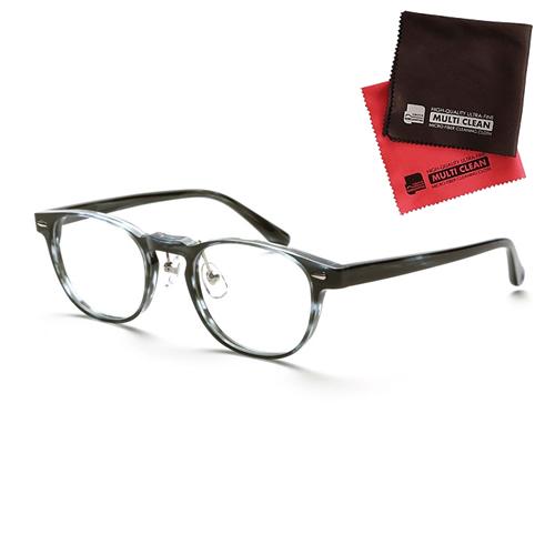 小松貿易 老眼鏡 ピントグラス PINT GLASSES 807BL (PG-807-BL) (老眼度数:+0.60~2.50D) (クロスセット)