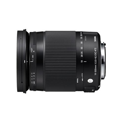 シグマ 18-300mm F3.5-6.3 DC MACRO OS HSM Contemporary ニコン用 高倍率ズームレンズ