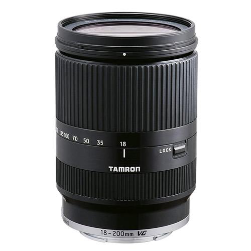 タムロン 18-200mm F/3.5-6.3 Di III VC キヤノン EOS-M用 ブラック Model:B011EM 高倍率ズームレンズ
