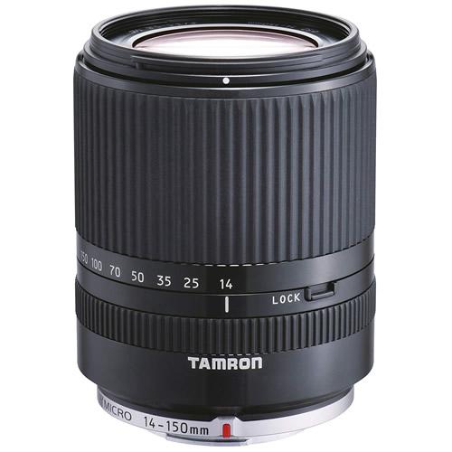 タムロン 14-150mm F/3.5-5.8 Di III マイクロフォーサーズ用 ブラック Model:C001 高倍率ズームレンズ