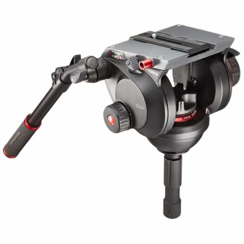 (メーカー直送)(代引不可)マンフロット 509HD プロビデオフルード雲台 100mm(ラッピング不可)