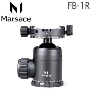 (メーカー直送)(代引不可)マセス (Marsace) 自由雲台 FB-1R(パンニングクランプ付)(ラッピング不可)