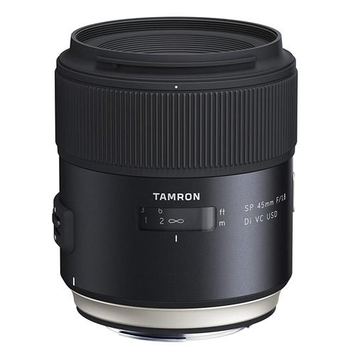タムロン SP 45mm F/1.8 Di VC USD キヤノン用 Model:F013E 大口径標準単焦点レンズ