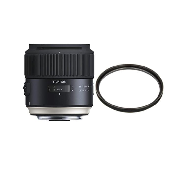タムロン SP 35mm F/1.8 Di VC USD ニコン用 Model:F012N (レンズ保護フィルター付)