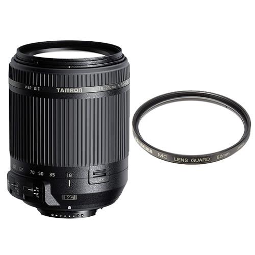 タムロン 18-200mm F/3.5-6.3 Di II VC ニコン用 Model:B018N (レンズ保護フィルター付)