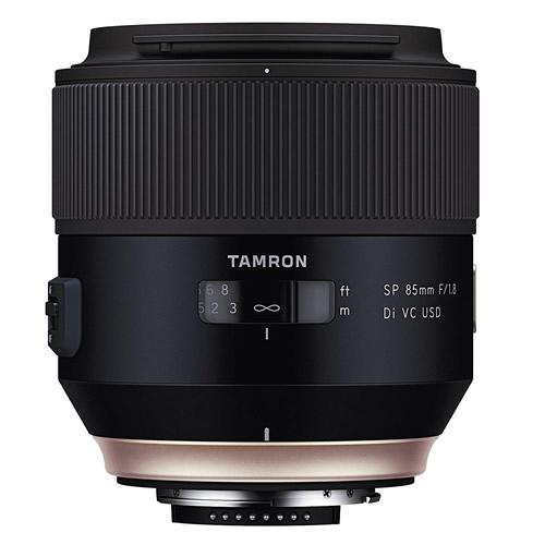 タムロン SP 85mm F/1.8 Di VC USD キヤノン用 Model:F016E 中望遠レンズ