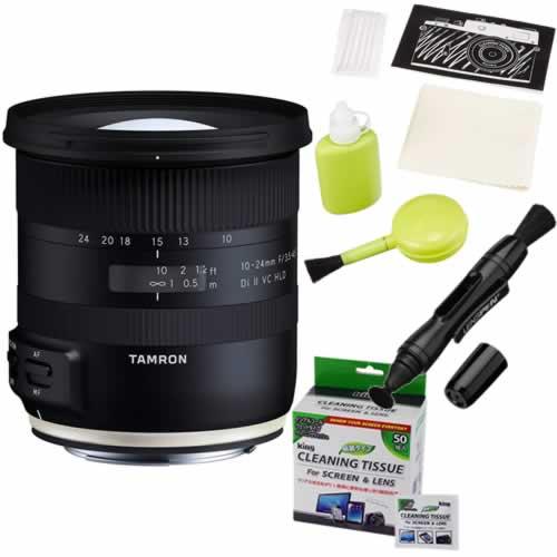 タムロン 10-24mm F/3.5-4.5 Di II VC HLD ニコン用 B023N 超広角ズームレンズ (カメラお手入れキット)