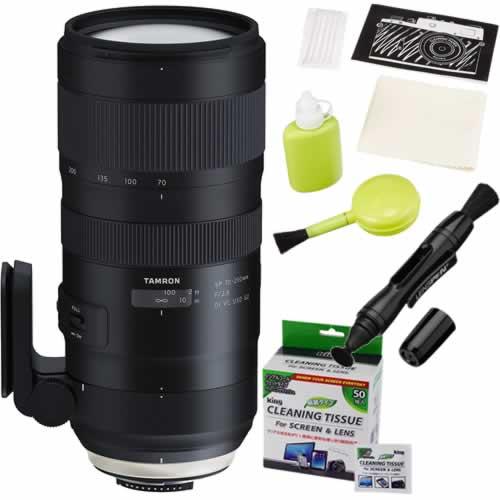 タムロン SP 70-200mm F/2.8 Di VC USD G2 ニコン用 A025N 大口径望遠ズームレンズ (レンズお手入れキット)