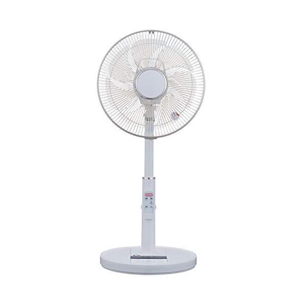 ユアサプライムス 音声認識扇風機 コトバdeファン YT-DV3418VFR(W) ホワイト 【ラッピング不可】