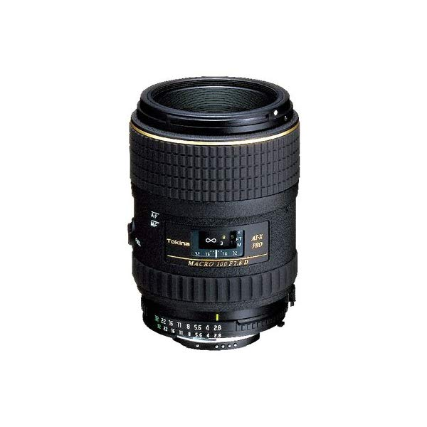 トキナー(Tokina)AT-X M100 PRO D 100mm F2.8 MACROマクロレンズ(35mmフィルム一眼レフカメラ、APS-Cフォーマットデジタル一眼レフカメラ兼用)【マウント選択式】
