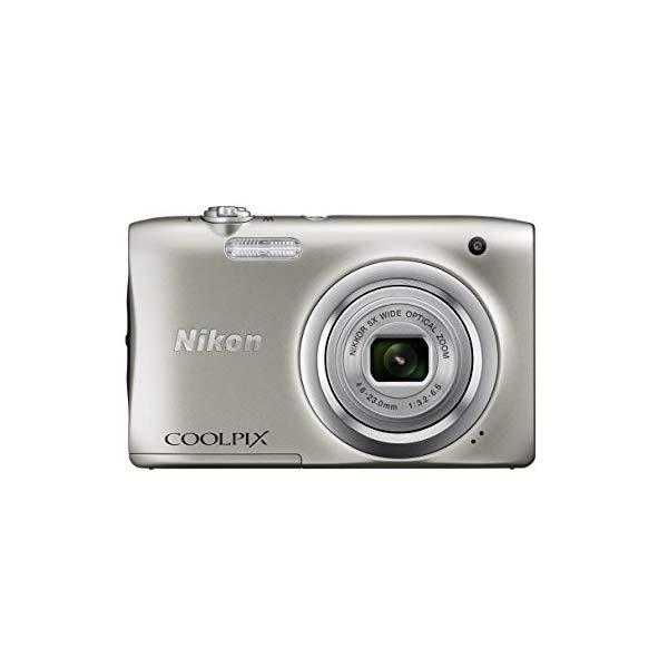 【送料無料】ニコン(Nikon) デジタルカメラ COOLPIX A100 [カラー選択式:シルバー/レッド]
