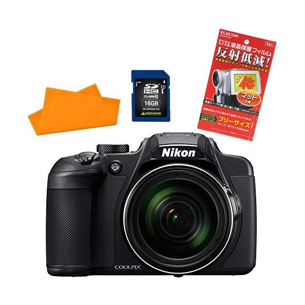 【SDカードほかセット】ニコン デジタルカメラ COOLPIX B700