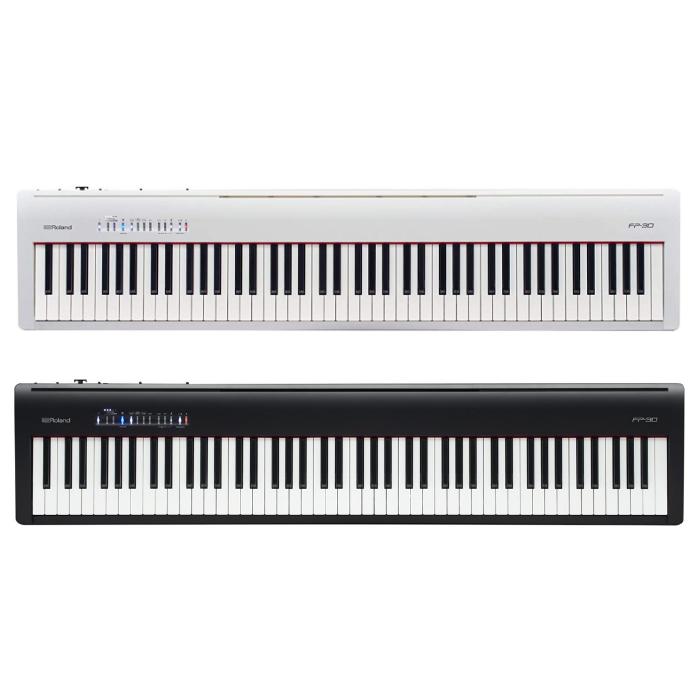 【送料無料】ローランド 電子ピアノ FP-30 [カラー選択式] 【ラッピング不可】【時間指定不可】
