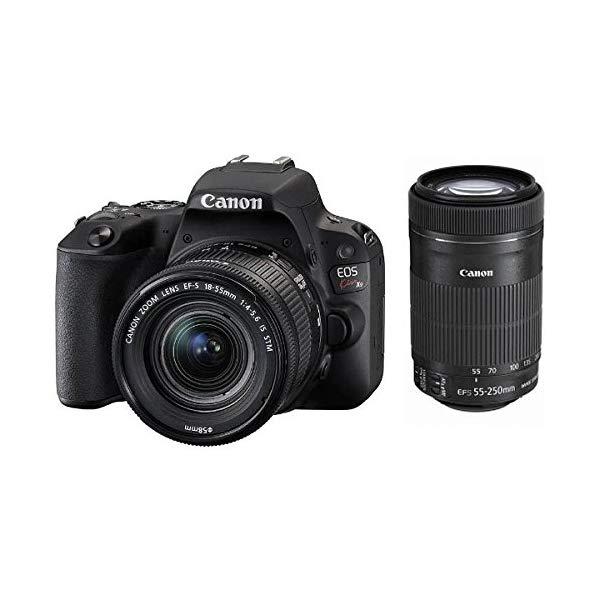 Canon [キヤノン] デジタル一眼レフカメラ EOS Kiss X9 ブラック Wズームキット