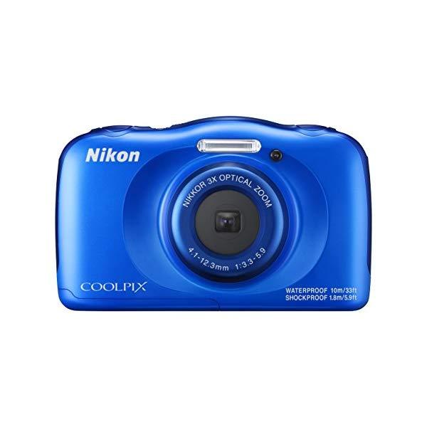Nikon(ニコン) デジカメ COOLPIX W100 [カラー選択式:ブルー/マリン]【防水デジカメ】