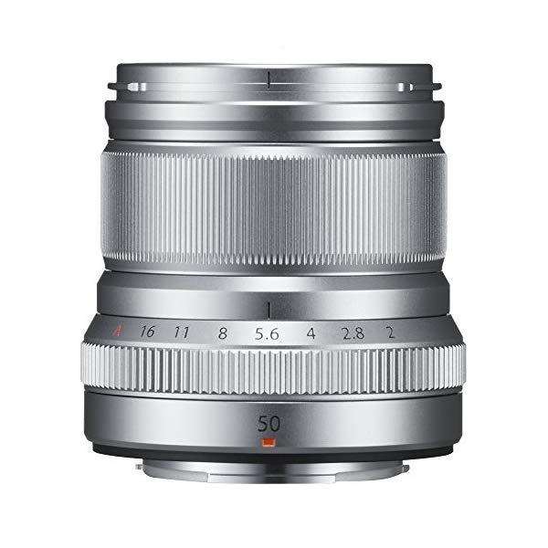 [送料無料]FUJIFILM [フジフイルム] 単焦点レンズ XF50mmF2 R WR [カラー選択:シルバー/ブラック]
