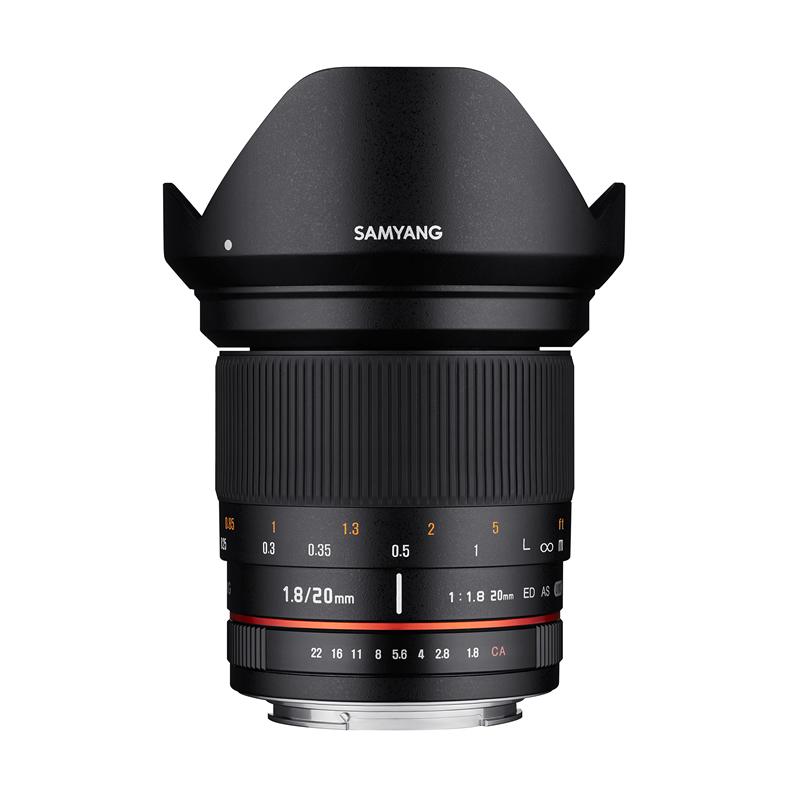 【アウトレット品】サムヤン 交換レンズ 20mm F1.8 アルフアFE用 (メーカー保証1年)