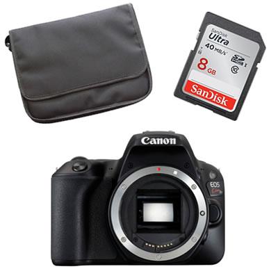 【★Canonオリジナルバック+SDHCカード8GBセット】Canon キヤノン 【デジタル一眼レフ】 EOS Kiss X9 ブラック ボディ