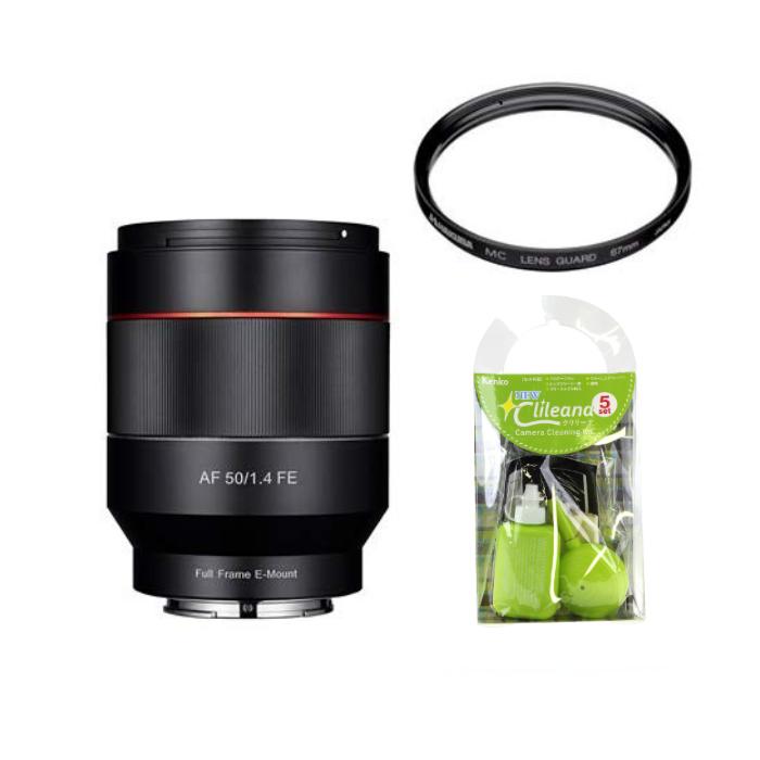 [レンズフィルター&クリーニングセット付き! ]交換レンズ サムヤン AF 50mm F1.4 アルファFE用