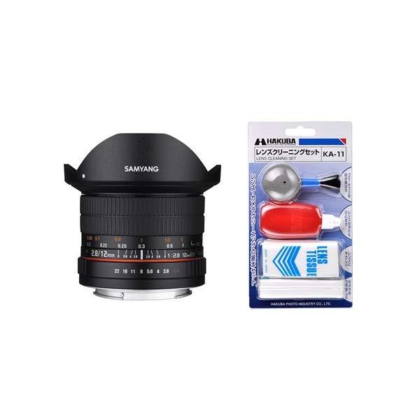 [クリーニングセット付き!]交換レンズ サムヤン 12mm F2.8 ED AS NCS FISH-EYE マイクロ4/3