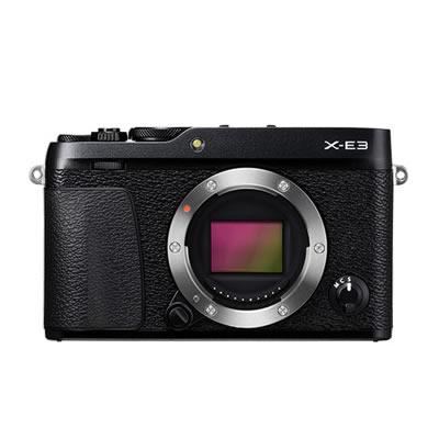 フジフイルム X-E3-B ブラック ボディ デジタルカメラ Xシリーズ [ミラーレス一眼][XE3B][FUJIFILM]