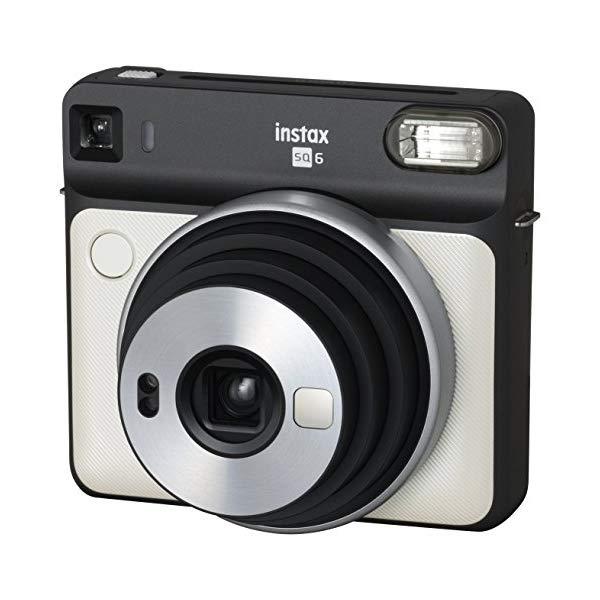 フジフイルム インスタントカメラ チェキスクエア instax SQUARE SQ6 パールホワイト (FUJIFILM)(SQ-6/ましかくチェキ/真四角チェキ)