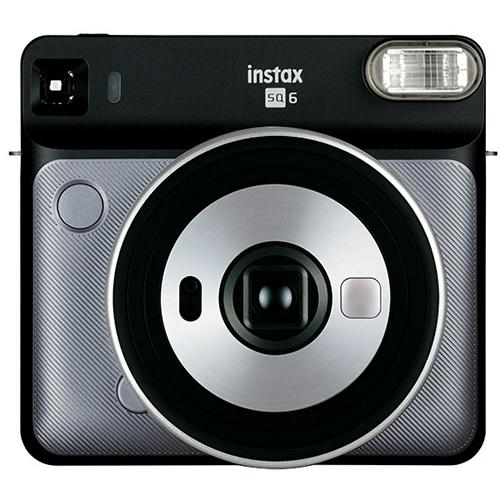 フジフイルム インスタントカメラ チェキスクエア instax SQUARE SQ6 グラファイトグレイ (FUJIFILM)(SQ-6/ましかくチェキ/真四角チェキ)
