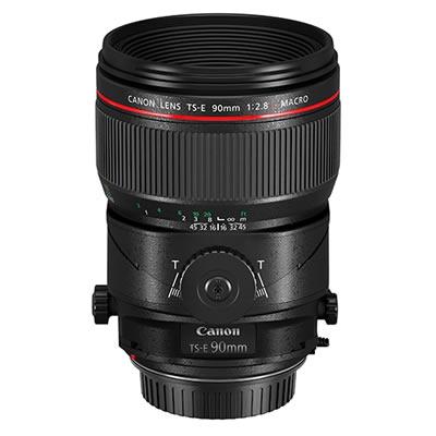 キヤノン TS-E90mm F2.8L マクロ 中望遠アオリレンズ (ケース・フード付) [TS-E9028LM][Canon]